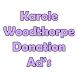 Karole Woodthorpe fundraising by Metamorphosis Studio