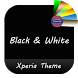 Black & White | Xperia™ Theme by The Gosa