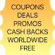 Coupons | Deals by Free Coupons Deals Promos Vouchers