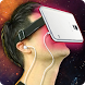 Helmet Virtual Reality 3D Joke