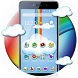 Cute Rainbow Sky Launcher by Cool Launcher Theme