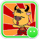 Stickey Lovely Small Cattle by Awesapp Limited