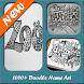 1000+ Doodle Name Art by DIY GX Studio