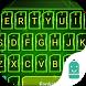 Mechanical Neon Emoji Keyboard by Best Keyboard Theme Design