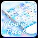 Flower Petal Keyboard by Cool Theme Studio