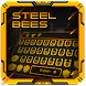 Steel bee keyboard by M Typewriter Theme Studio