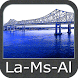 Louisiana Mississippi Alabama