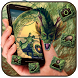 Magic Green Dragon Theme by Cool Style Launcher Phone
