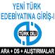 AÖF YENİ TÜRK EDEBYTNA GİRİŞ-I by AÖF KURSLARI