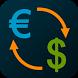 Euro Dollar Converter EUR/USD by Olegas Gončarovas