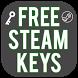 free steam keys