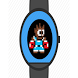 Retro fight game watch face by Tsoglani Co.