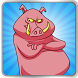 Angry Pink Piggy Boom by Sizzlinan