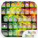 Rasta Smoke Emoji Keyboard by Colorful Design