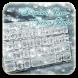 Silver diamond panda keyboard by Echo Keyboard Theme