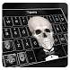 Typany Suit Skull Keyboard by Input theme