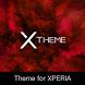 xBlack - Red Premium Theme for Xperia by Michał Ambroziak