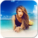 Beach Photo Frame by FrontStar App
