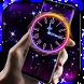 Running Clock Live Wallpaper by Weather Widget Theme Dev Team