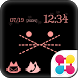 Cat Face Wallpaper Theme by +HOME by Ateam