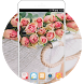 Pink Rose Wallpapers Theme For Girls: Lovely Love by Mobo Theme Apps Team