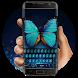 Butterfly fluorescent keyboard by Bestheme Keyboard Designer 3D &HD