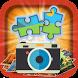 Scramble with Photos: Jigsaw by BigBelly Productions, LLC