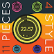 Digital Circles Zooper Widget by KitteehDesign