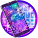 Colorful Galaxy Keyboard Theme by Customize My Phone