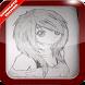 Learn Draw Anime Girl by Ak-tsir Maalii