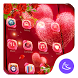 Red rose love-APUS launcher free theme by CoolAppPub