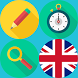 English Word Search Game by Silver Moon Apps