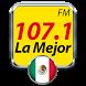La Mejor 107.1 Musica Grupera Gratis FM Mexico by moaiapps