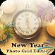 New Year Photo Grid Editor by Crosoft.my