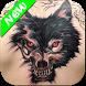 Wolf Tattoo Design by DJ Tech Studio