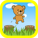Hopping Brown Bear by Linkageworks ,Inc