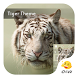 Tiger Animal Keyboard -Smileys by Eva Awesome Theme