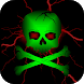 Toxic Skull Live Wallpaper by Animated Live Wallpapers