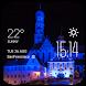 Augsburg weather widget/clock by Widget Dev Studio