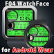 F04 WatchFace for Android Wear by Smartwatch Bureaux