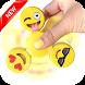 Emoji Fidget Spinner Hand by DevSalah.offishel