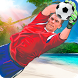 Soccer Goalkeeper - Beach Coast Goalie by Bambo Studio
