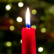 christmas candle wallpaper by funny wallpapers fun llc