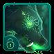 Green Wolf Locker Theme by Luxury App Lock Theme
