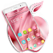 Pink X Phone Theme by Classic Android Themes