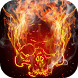 Smoking skull live wallpaper by FlameryHot
