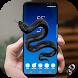 Snake on Mobile screen Joke - Hissing/Crawling by PIXART