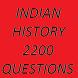 Indian History 2200 Questions by Chetana Bharadwaj