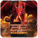 Keyboard - Dragon Attack Swag Free Emoji Theme by Kika Free Theme