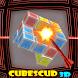 Cubes Scud 3D - smart puzzler by Sinexs